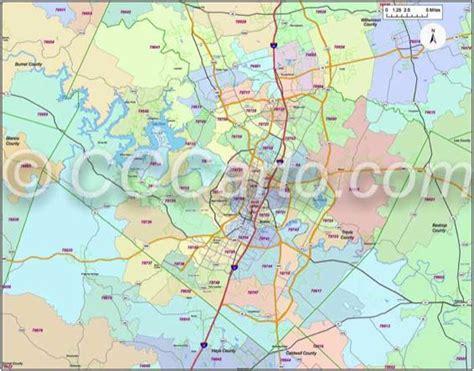Travis County Search Travis County Zip Code Map Zip Code Map
