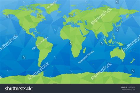 world map image big size vector world map large size stock vector 294729890