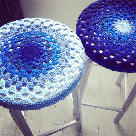 free pattern crochet bar stool covers florriemarie