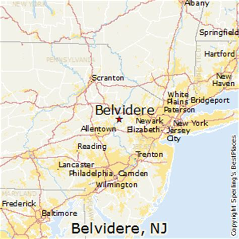 best places to live in belvidere new jersey