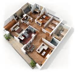 House Lay Out 4 bedroom apartment house plans