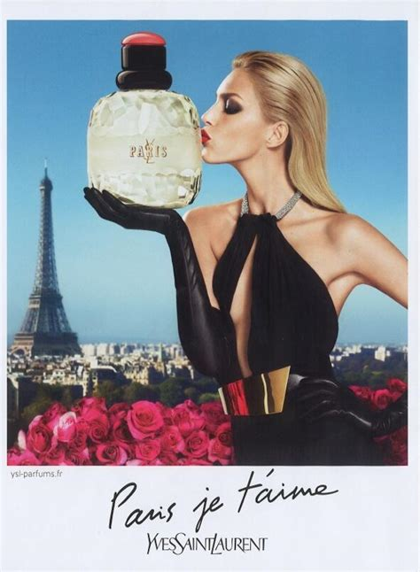 Parfum Ysl Parisienne anja rubik in ysl s quot je t aime quot and