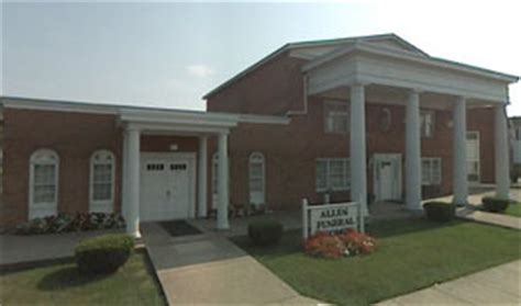 allen funeral home hurricane west virginia wv