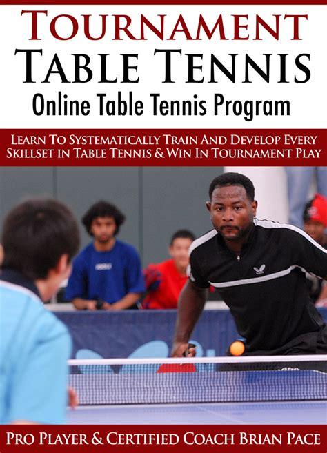 table tennis training net table tennis training program for beginners designer