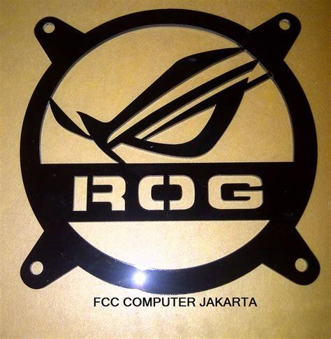 Emblem Logo Tersformen Warna Kuning jual asus rog logo fan grill fcc computer