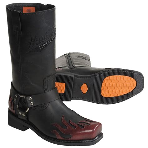 Harley Davidson Alameda Motorcycle Boots (For Men) 1359D