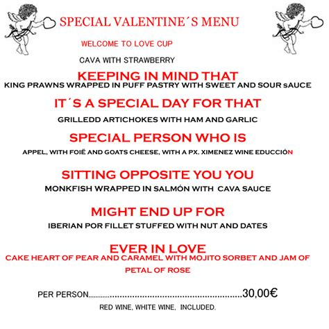 valentines day riddle jimenapulse special s day menu including