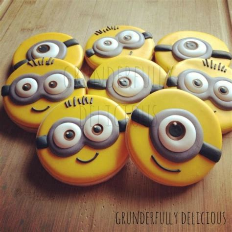 minion cookies 54 fancy cookie decoration inspos to fit any occasion
