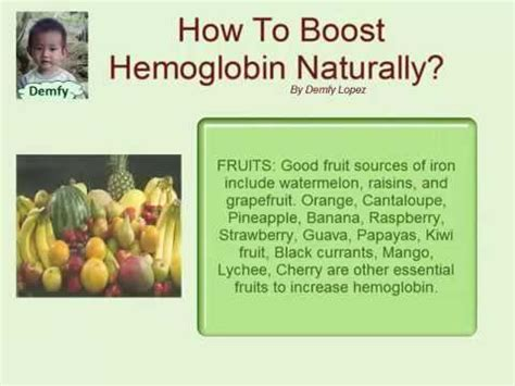 how to boost hemoglobin naturally
