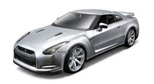 Nissan Gtr Models 2009 Nissan Gt R 1 24 Model Kit By Maisto Diecast Toys