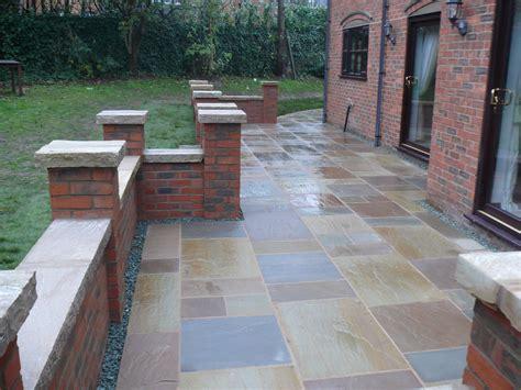 Brick Patio Wall landscaping patios terraces jhps gardens jhps gardens