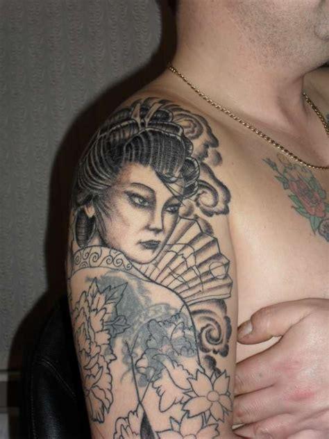 geisha tattoo cover up geisha cover up tattoo