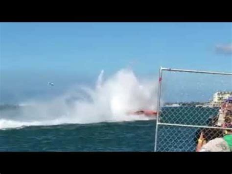key west boat accident key west 2017 super power boat accident youtube