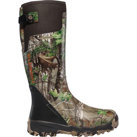 lacrosse boots alphaburly pro lacrosse footwear alphaburly pro realtree xtra green