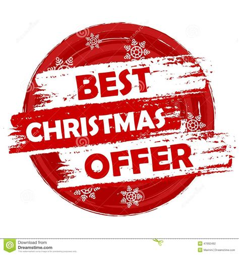 christmas special offers best offer stock photo image of bonus money 47692492