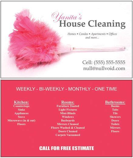 house cleaning company sles of cleaning business cards business cards custom office cleaning cards