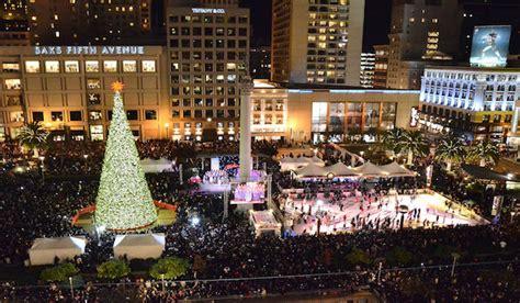 san francisco christmas lights and holiday things to do