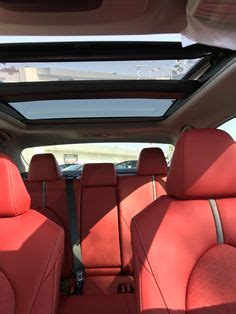 toyota camry xse 2018 red interior | drive your life