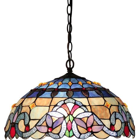 tiffany style  light victorian ceiling pendant fixture