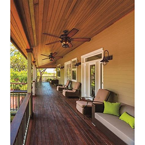 brentford 52 inch reversible five blade indoor outdoor ceiling fan images