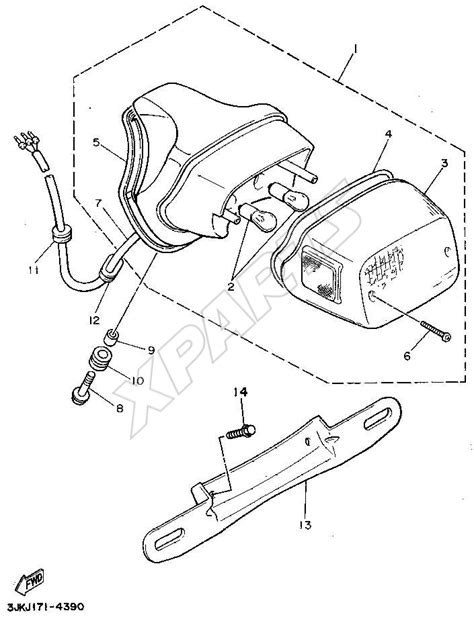 83 xt 250 wiring diagram wiring diagram and fuse box