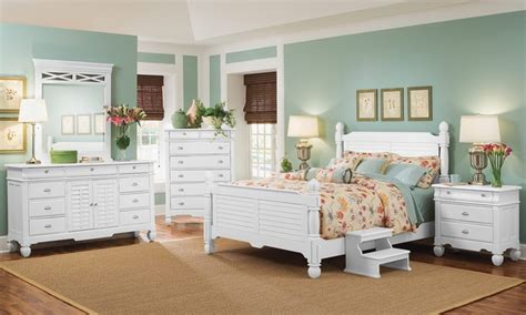 beach bedroom furniture magnolia white delux bedroom collection beach style