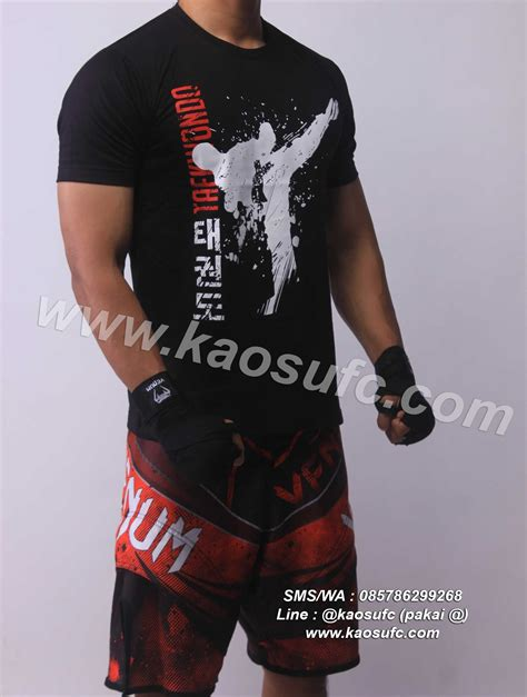 kaos taekwondo hanzo elite fight gear order via sms wa