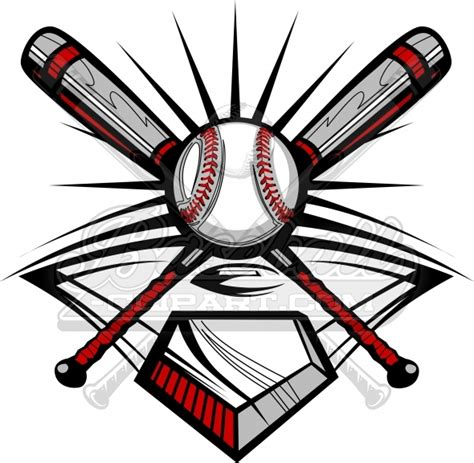 design a baseball logo for free baseball design vector clipart image