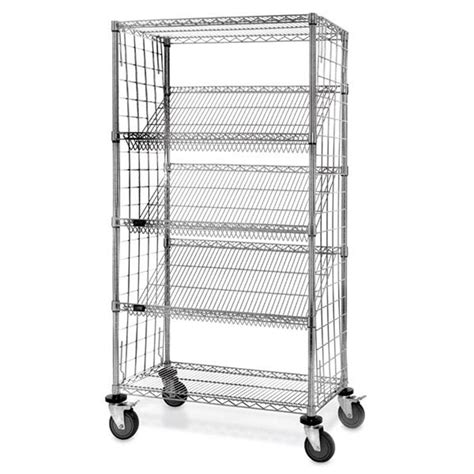 slant rack wire shelving marketlab inc