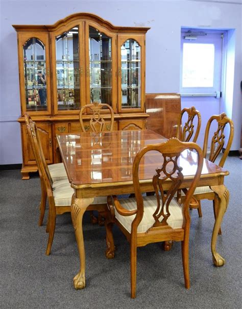 Thomasville Dining Room Tables Thomasville Dining Room Suite To Include Table 30 Quot H 71 Quot