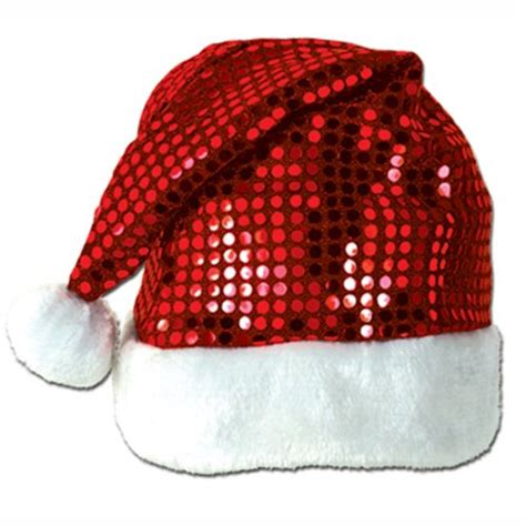 silver santa hat is a very bright beautiful costume