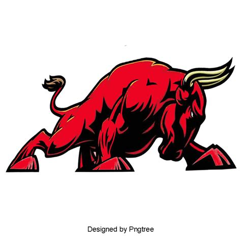 Auto Logo Roter Stier by Cartoon Red Bull Animales De Dibujos Animados Red Bull