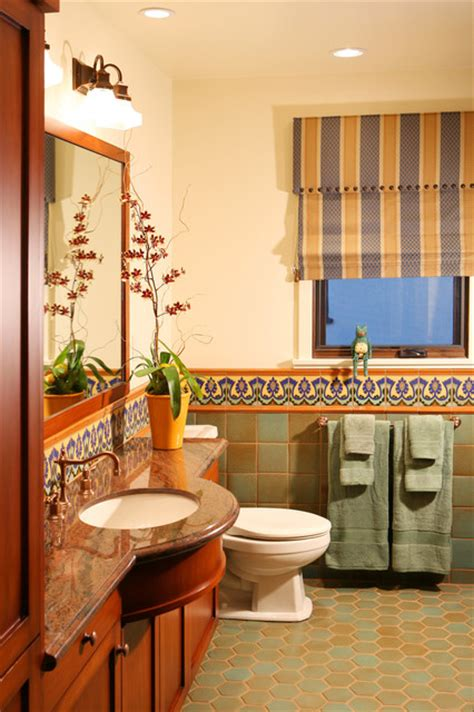 spanish tiles bathroom designs spanish revival restoration mediterranean bathroom