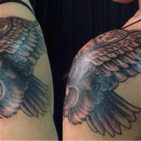 eagle neil tattoo blink custom art tattoos eagle tattoo done as a cover