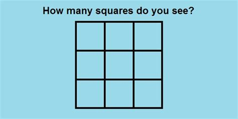 How many squares do you see spicy quiz