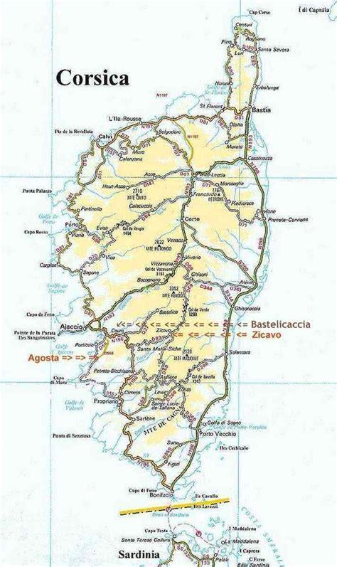 corsica map corsica connect locations estivales corse lets corsica f 233 rienwohnungen korsika