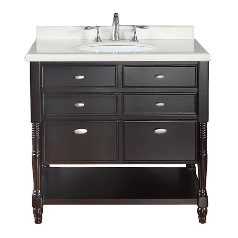 Ove Decors by Ove Decors Elizabeth 36 In Vanity In Espresso With