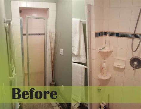 Re Tiling Bathroom Shower How We Re Tiled Our Big Master Bath Shower