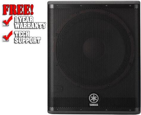 Speaker Yamaha Dsr 118 yamaha dsr118w
