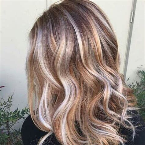 pictures of blonde hair with brown highlights 55 charming brown hair with blonde highlights suggestions