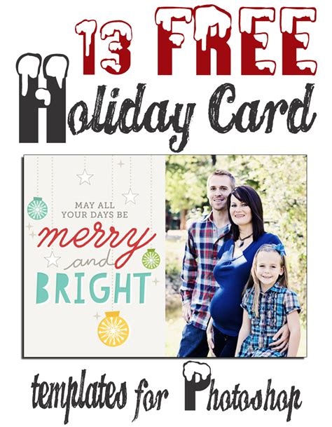 Free Photo Card Templates For Photoshop by 17 Card Photoshop Templates Free Images