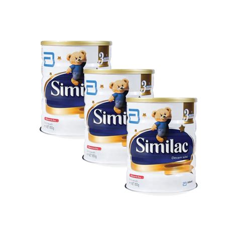 Similac Gain Plus 3 850 Gr similac bebek mamas