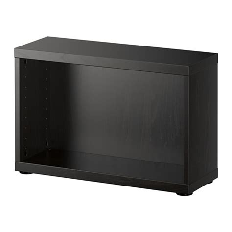 ikea besta black best 197 frame black brown ikea