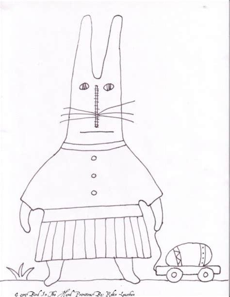 doodle god how to make resurrection bird in the primitives easter bunny freebie doodle