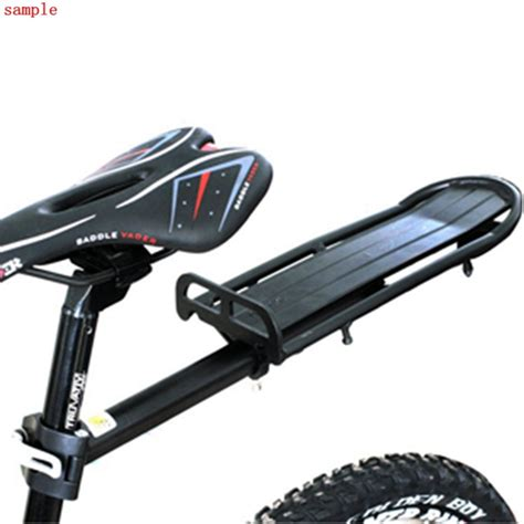 Seat Post Rack by Other Parts Accessories Black Extendable Bicycle Seat