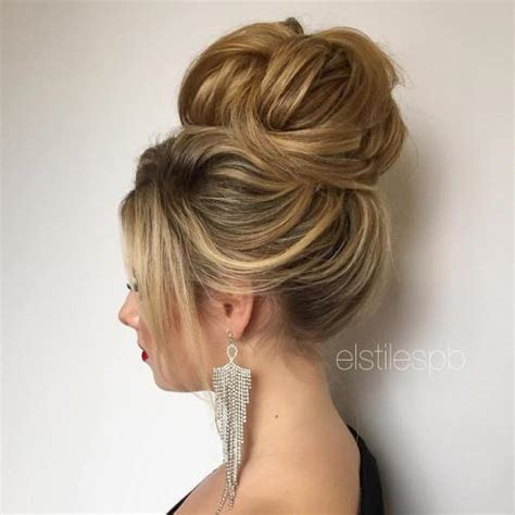 Bun Hairstyles For Prom by 40 Most Delightful Prom Updos For Hair In 2018