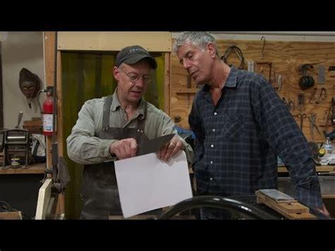 anthony bourdain knife maker anthony bourdain knife making northwest firearms