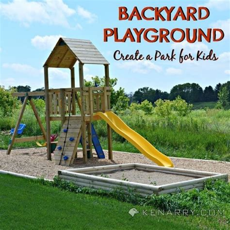 How To Make A Area In Your Backyard by Diy Backyard Playground How To Create A Park For