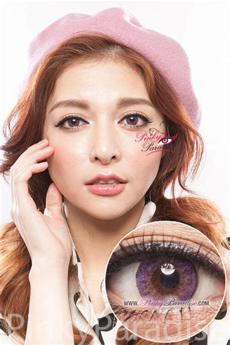 Geo Tri Color geo tri color violet circle lenses colored contacts