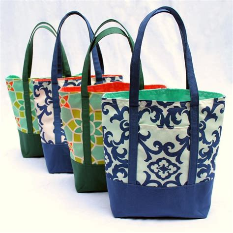 pattern for a canvas tote bag free tote bag pattern to sew at home